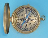 Compass Rose on Antique Finished Compass