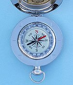 Dalvey Voyager Liquid Damped Pocket Compass with Rotating Bezel