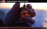 World War I Pocket Compass shown in Fergie Frederiksen's Follow Your Heart Music Video