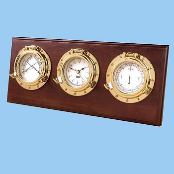 Weems and Plath Item 312800 Porthole Weather Center