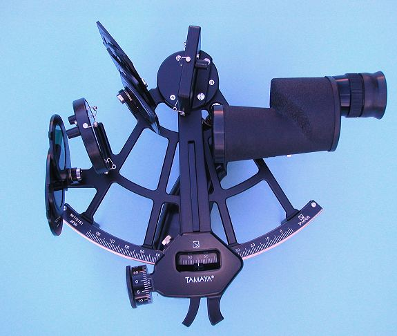 Tamaya Spica Sextant (shown with 7x35 Monocular Scope)