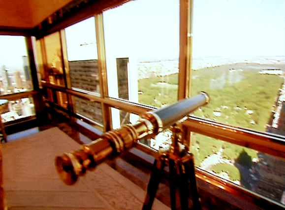 30-inch Stanley London Polished Brass Telescope shown on Season 7, Episode 10