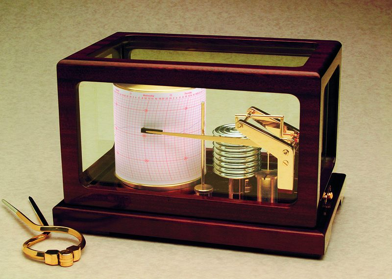 Weems and Plath 410-D Dampened Deluxe Quartz Barograph