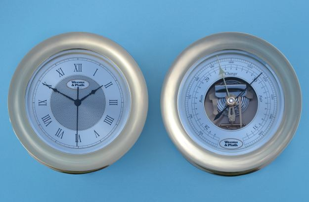Weems &amp; Plath Anniversary Collection <br> Ship's Clock &amp; Barometer