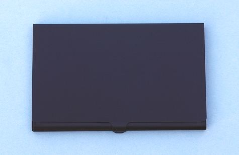 Anodized Black Card Case