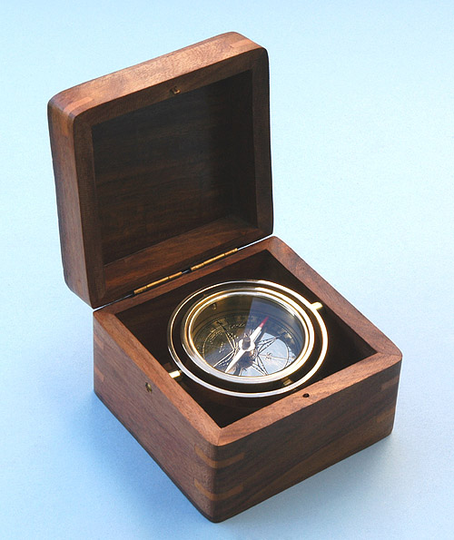 Miniature Boxed Compass