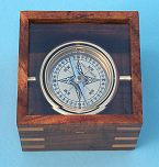 Top View of Compass