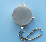 Brushed Large Compass with Key Chain