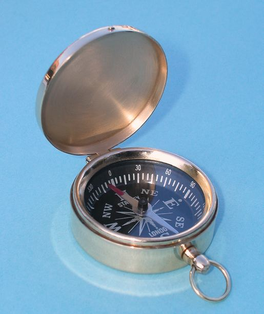 Scouting Brass Pocket Compasses