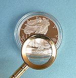 Magnifying a Coin