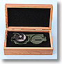 Tritium Military Lensatic Compass w/ Pouch and Box