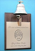 Custom Engraved Bell Plaque