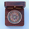 Top View of Captain's Compass Face