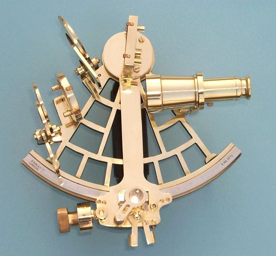 C. Plath Reproduction Brass Sextant