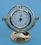 Rotate 180 Degrees and it's a Precision German Made Barometer